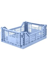 Eef Lillemor Lillemor - Folding Crate 'Baby Blue' - Medium