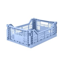 Eef Lillemor Lillemor - Folding Crate 'Baby Blue' - Medium