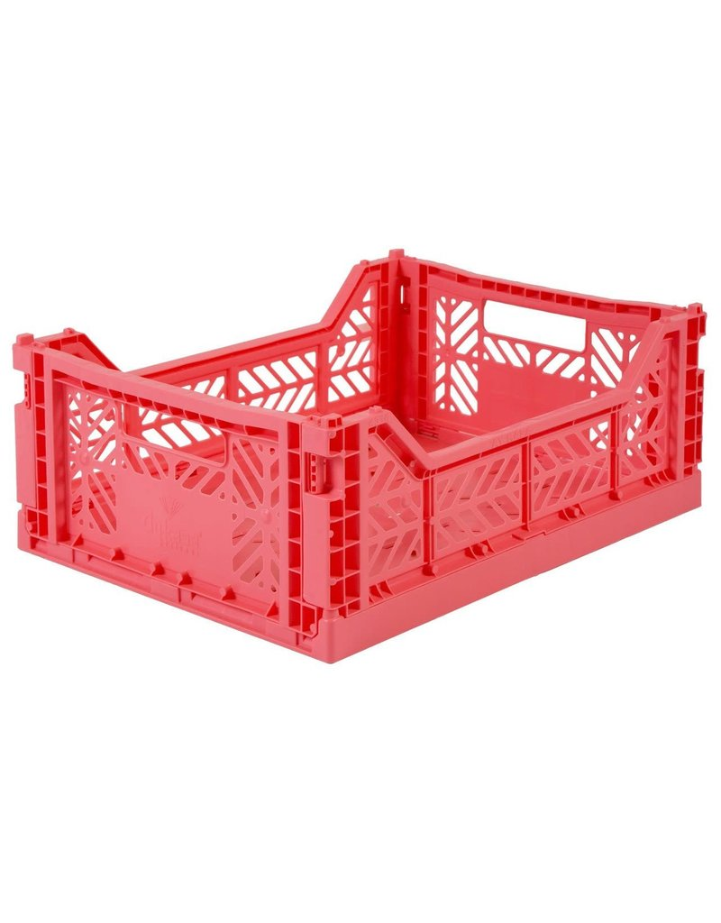 Eef Lillemor Lillemor - Folding Crate 'Dark Pink' - Medium