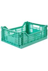 Eef Lillemor Lillemor - Folding Crate 'Mint' - Medium