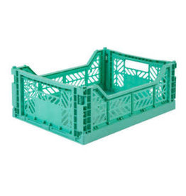 Eef Lillemor Lillemor - Folding Crate 'Mint' - Medium