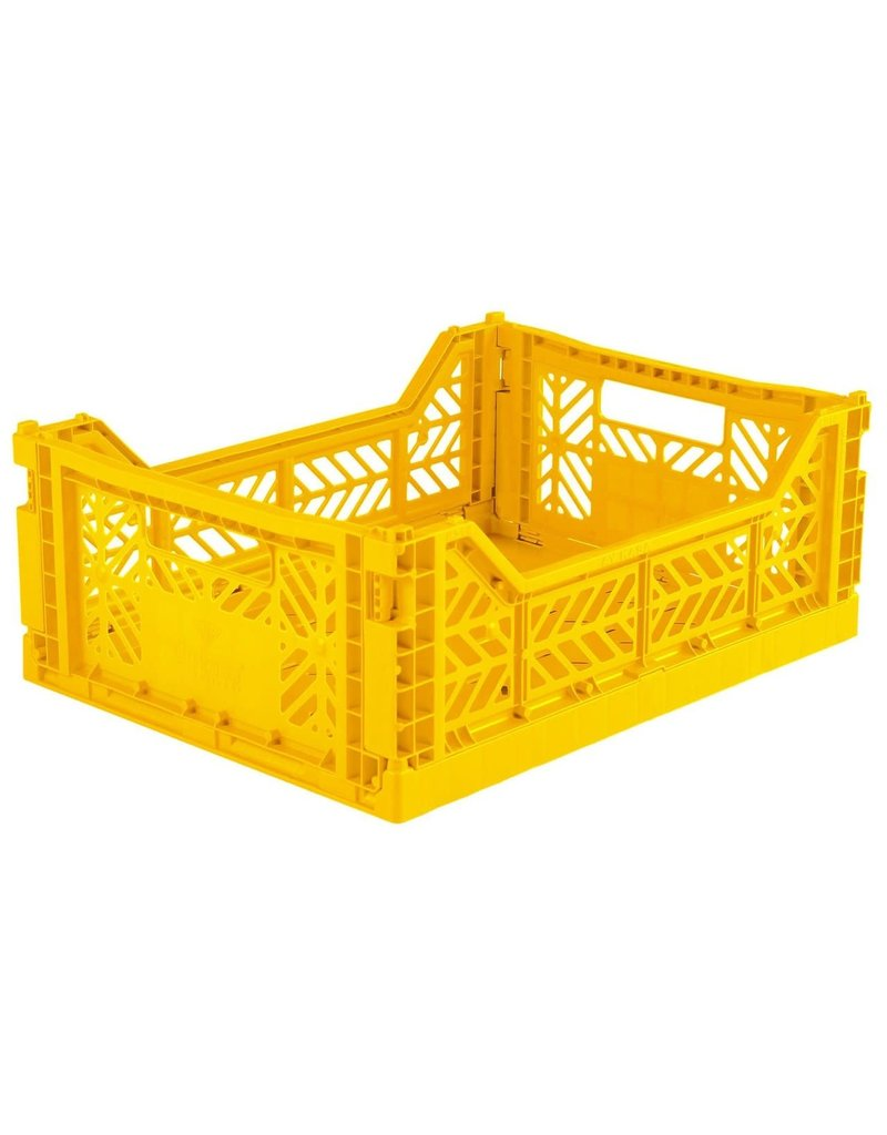 Eef Lillemor Lillemor - Folding Crate 'Yellow' - Medium