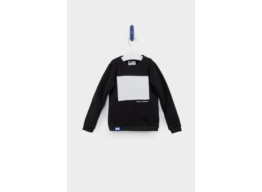 From Paris - Sweatshirt Perfectly Imperfect - Black & white