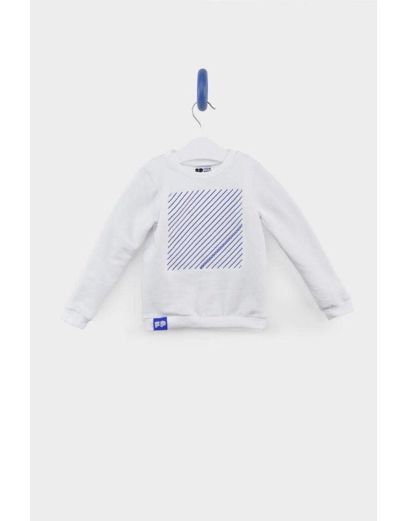 From Paris From Paris - Sweatshirt - White Blue