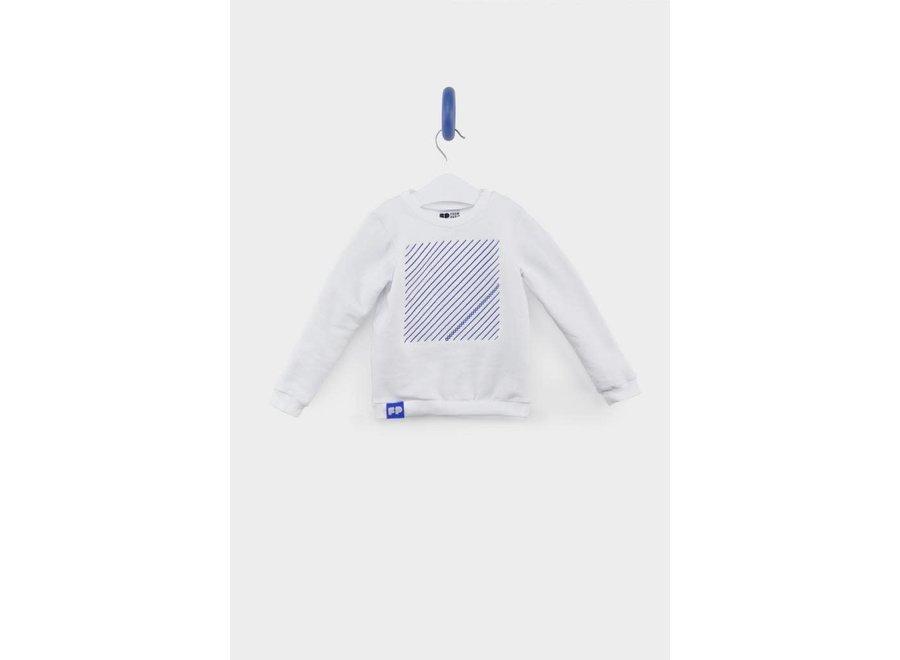 From Paris - Sweatshirt - White Blue