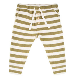 Little Indians Little Indians - Pants Olive Stripe