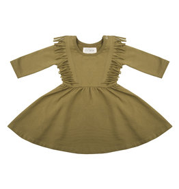 Little Indians Little Indians - Boho Dress Olive