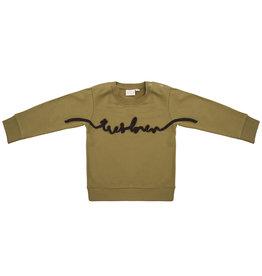 Little Indians Little Indians - Sweater Très Bien - Olive