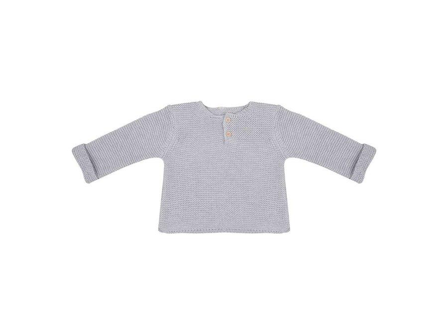 Little Indians - Knit Sweater Light Grey