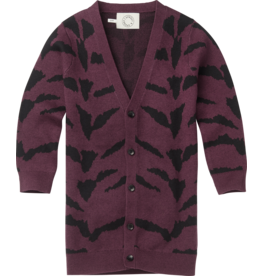 Sproet & Sprout Sproet & Sprout - Cardigan Tiger Intarsia