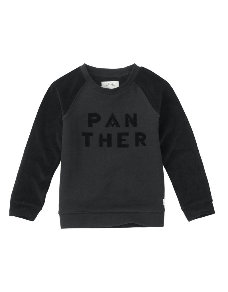 Sproet & Sprout Sproet & Sprout - Sweatshirt Panther text