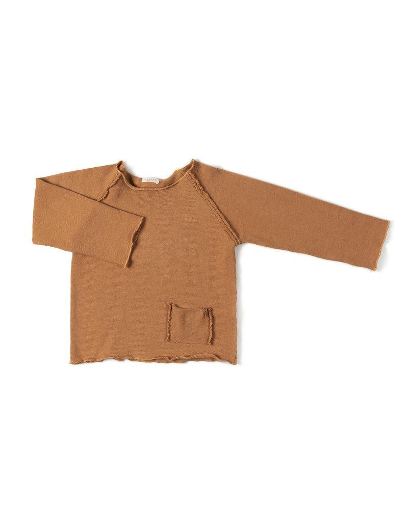 Nixnut Nixnut Raw Shirt - Camel