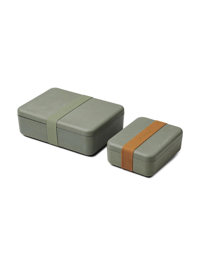 Liewood Liewood - Lunch Box Set Bradley - Faune Green