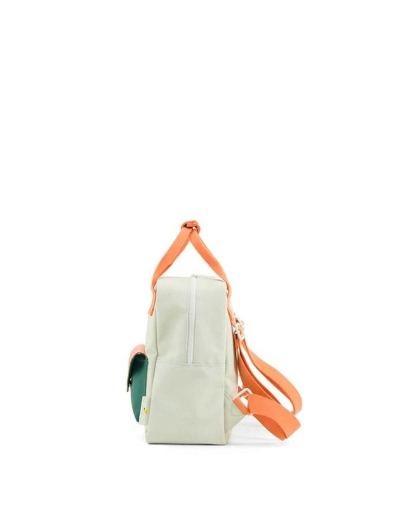Sticky lemon Sticky Lemon - Backpack Enveloppe Powder Blue / Coral