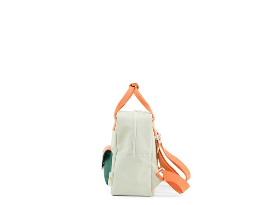 Sticky Lemon - Backpack Enveloppe Powder Blue / Coral
