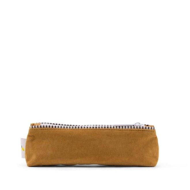 Sticky Lemon - Pencil Case Corduroy - Mustard