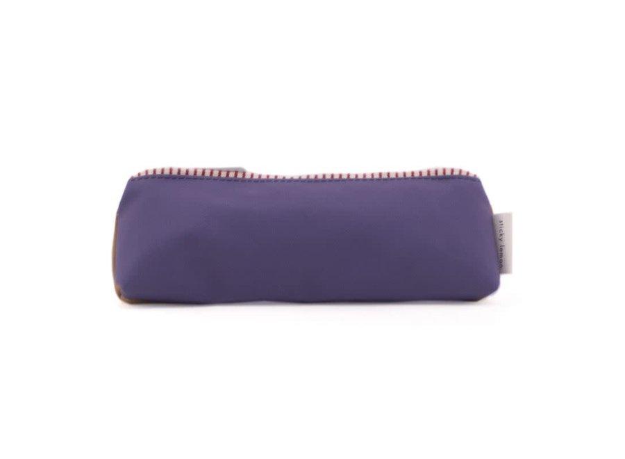 Sticky Lemon - Pencil Case Colour Block Panache Gold - Purple