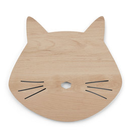 Liewood Liewood - Troy Wooden Lamp 'Cat Natural'