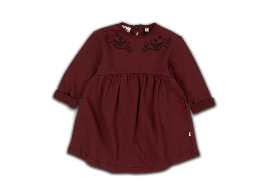 Cos I Said So - Babydoll Dress - Zinfandel
