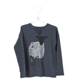 Lötiekids Lötiekids - Tshirt Sheep - Vintage Black