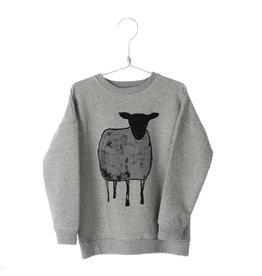 Lötiekids Lötiekids - Sweatshirt Sheep - Grey Melange