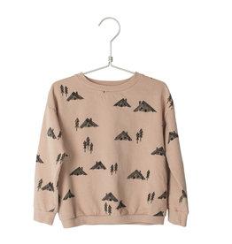 Lötiekids Lötiekids - Sweatshirt Cottages - Dusk Pink