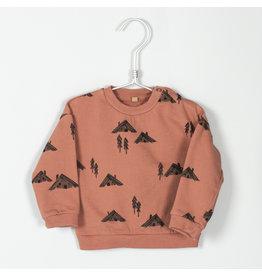 Lötiekids Lötiekids - Baby Sweatshirt Cottages - Brick
