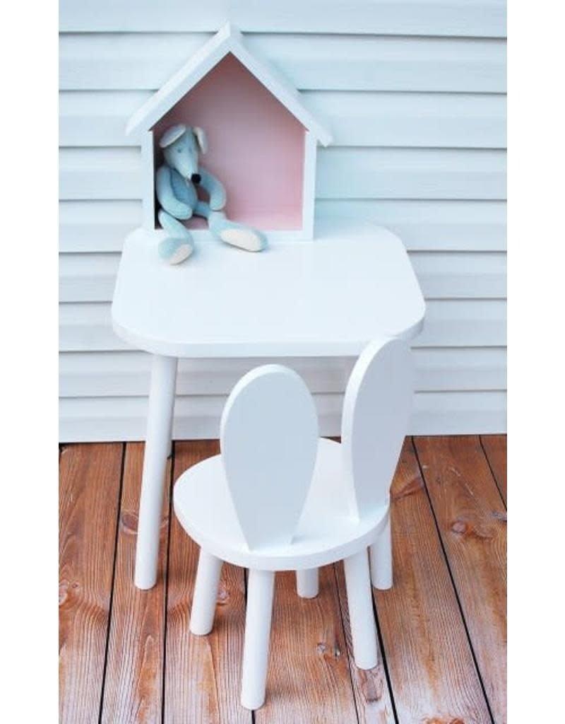 Bambooko Geboortelijst - Kinderstoel Bunny White