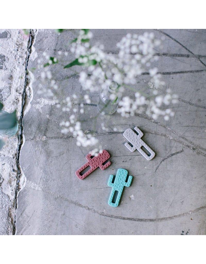 Minikoioi MiniKOiOi - Bijtring Cactus - Donkerroze