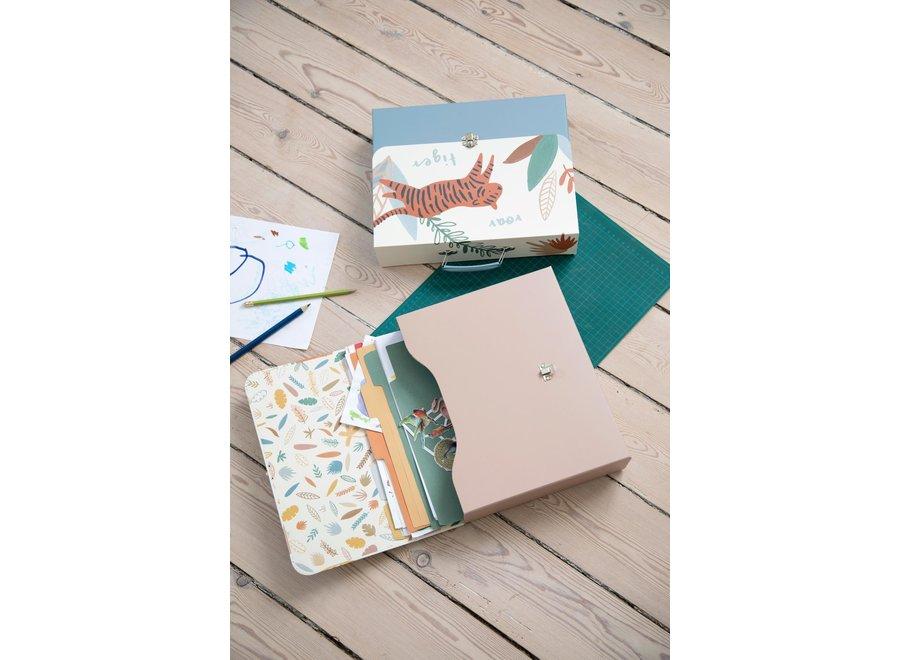 Sebra - Storage for drawings 'Wildlife'