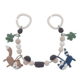 Sebra Sebra - Crochet Pram Chain 'Woodland'