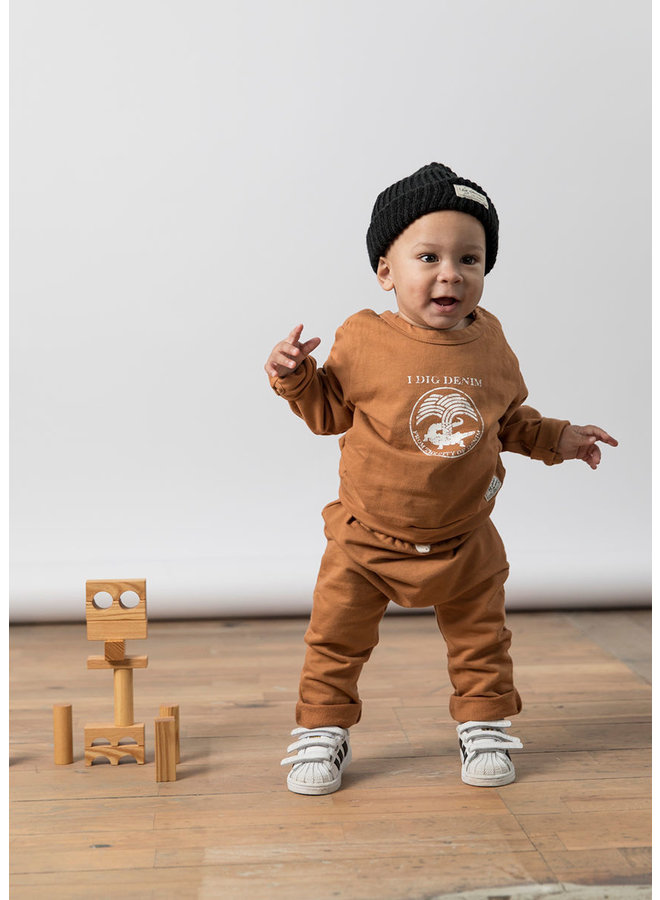 I Dig Denim - Jan Sweater 'Mustard'