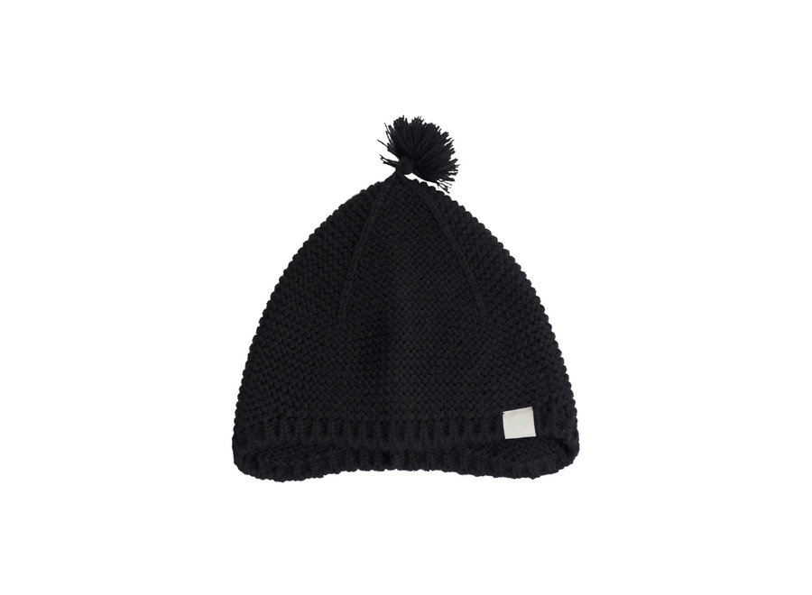 I Dig Denim - Ben Knitted Bonnet - Black