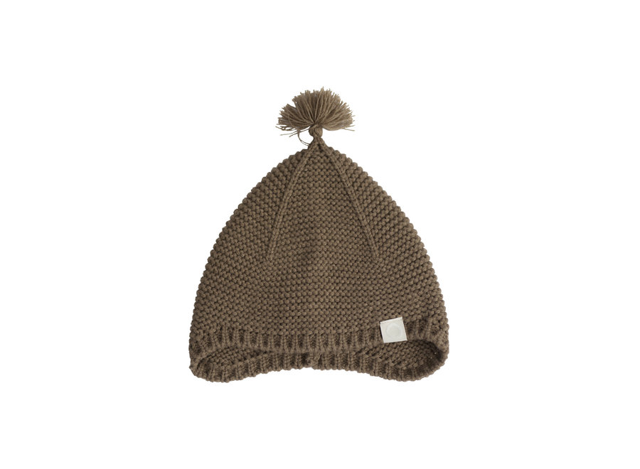 I Dig Denim - Ben Knitted Bonnet - Brown