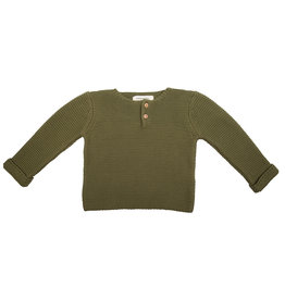 Little Indians Little Indians - Knit Sweater Olive