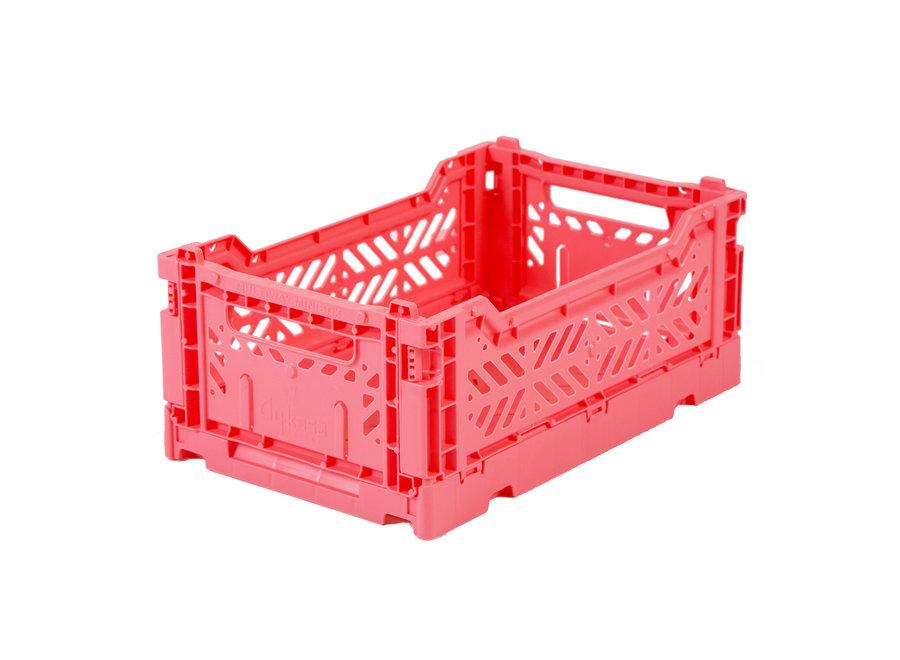 Lillemor - Folding Crate 'Dark Pink' - Mini