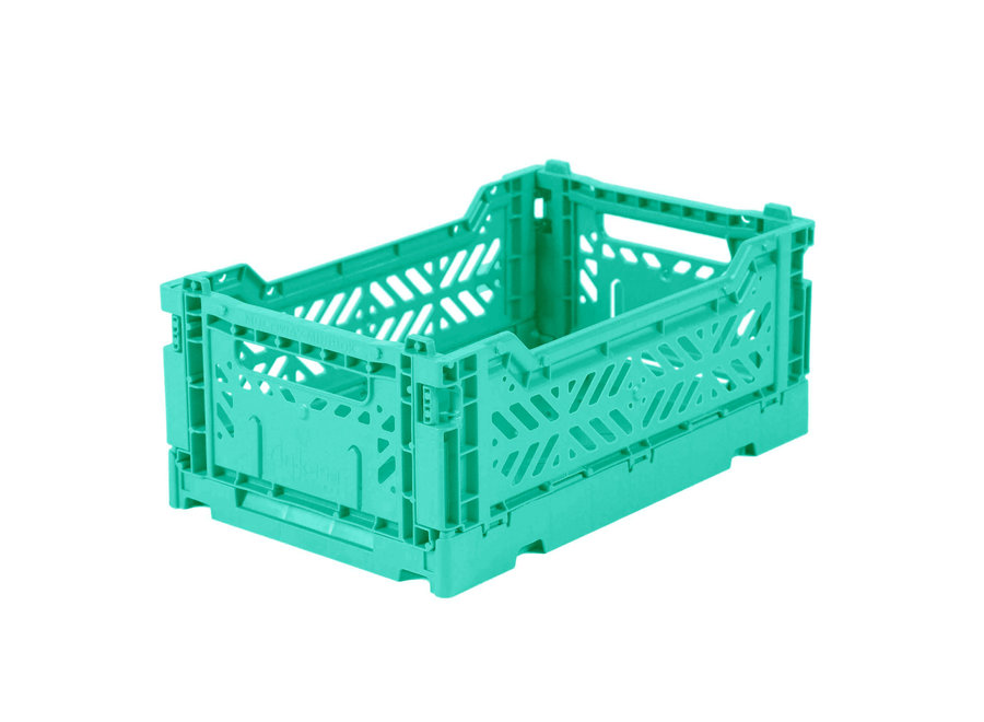 Lillemor - Folding Crate 'Mint' - Mini