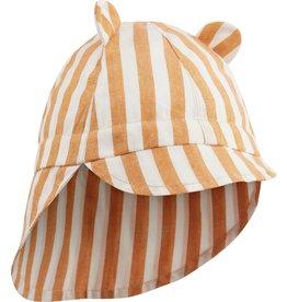 Liewood - Zonnehoedje 'Gorm Hat' - Mustard 6 tot 12 maand