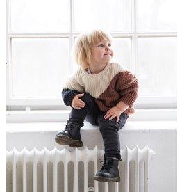 I Dig Denim I Dig Denim - Bobby Sweater Knitted - Colour Block