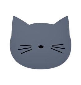 Liewood Geboortelijst Miek - Liewood - Placemat Cat 'Blue wave'