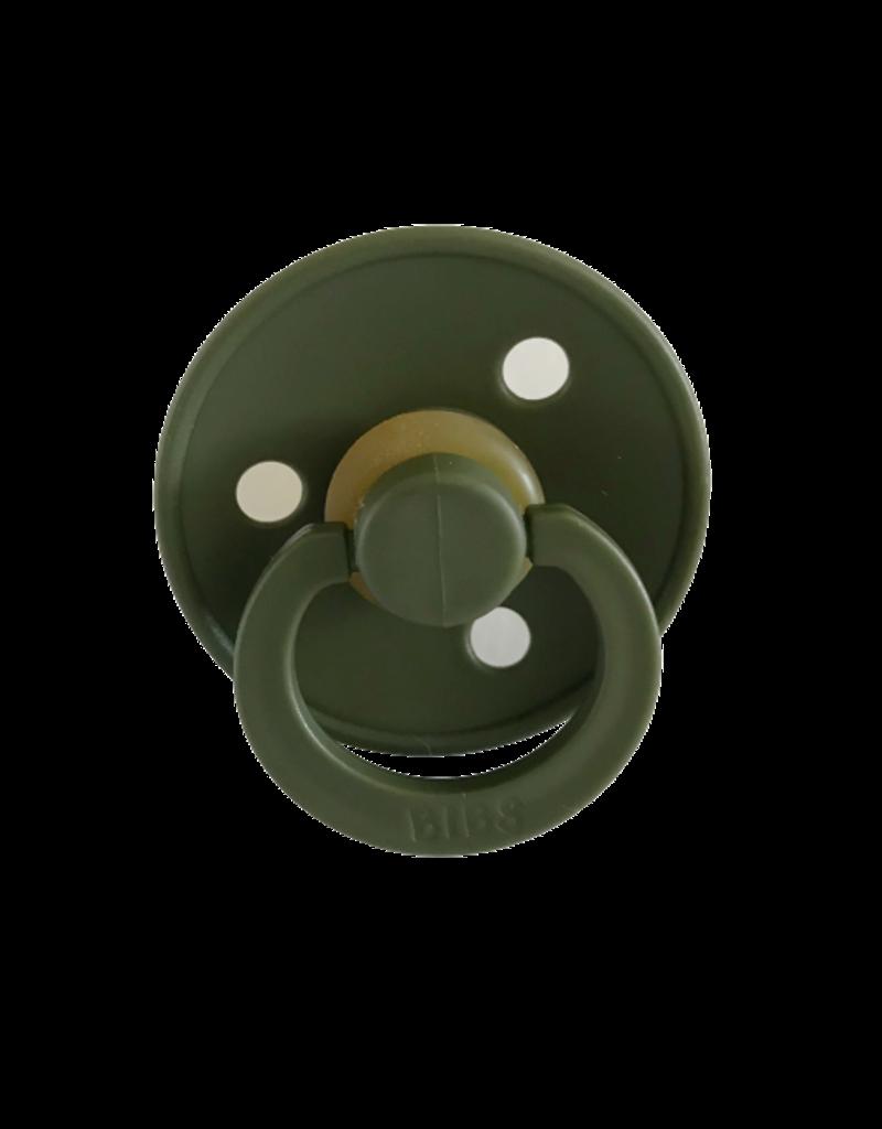 Geboortelijst -  BIBS - Fopspeen Hunter Green T2