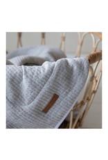 Geboortelijst - Ledikantdeken Pure & Soft - Grey
