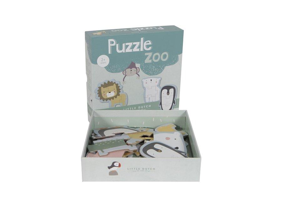 Little Dutch - Puzzle Zoo