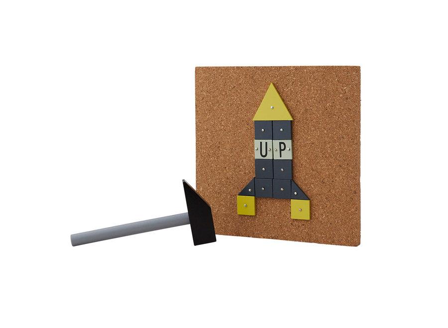 Design Letters - Hammer Artist Rocket