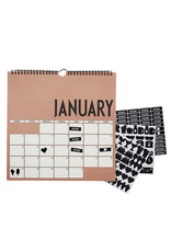 Design Letters Design Letters - Wall Calender 2020