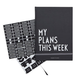 Design Letters Design Letters - My Plans This Week