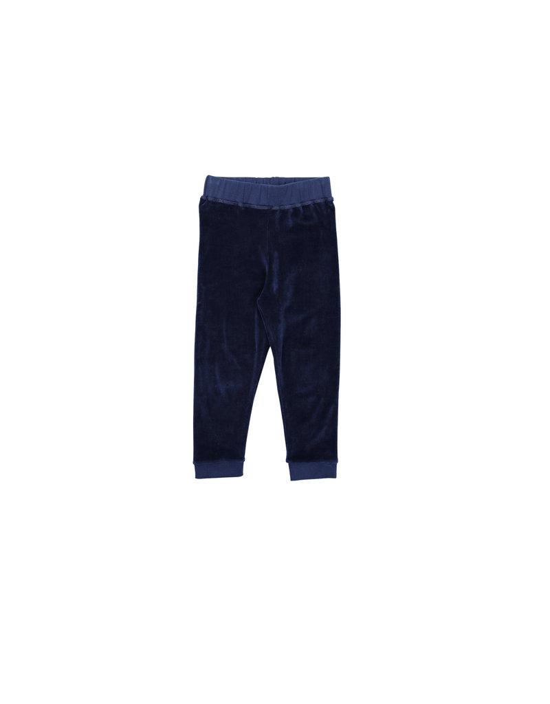 One We Like One We Like - Baby Relax Pants - Velvet Blue
