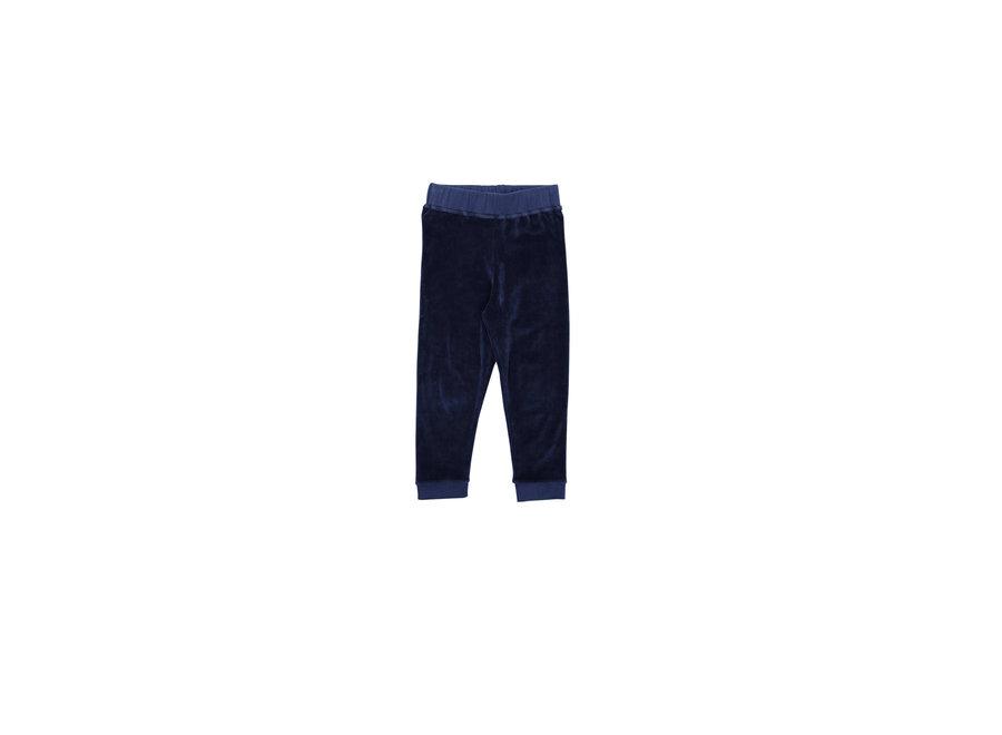 One We Like - Baby Relax Pants - Velvet Blue