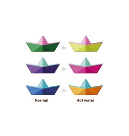 Kid O - Origami Color Changing Boats