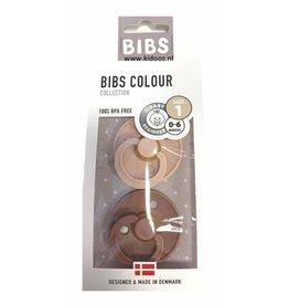 BIBS BIBS - Fopspeen Blister Woodchuck Blush
